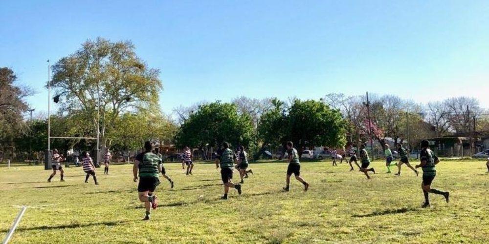 El plantel superior de rubgy no pudo contra Colón Rugby